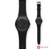 Swatch Originals Black Rebel SUOB702