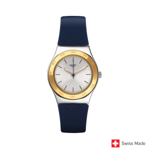 Swatch Blue Push YLS191